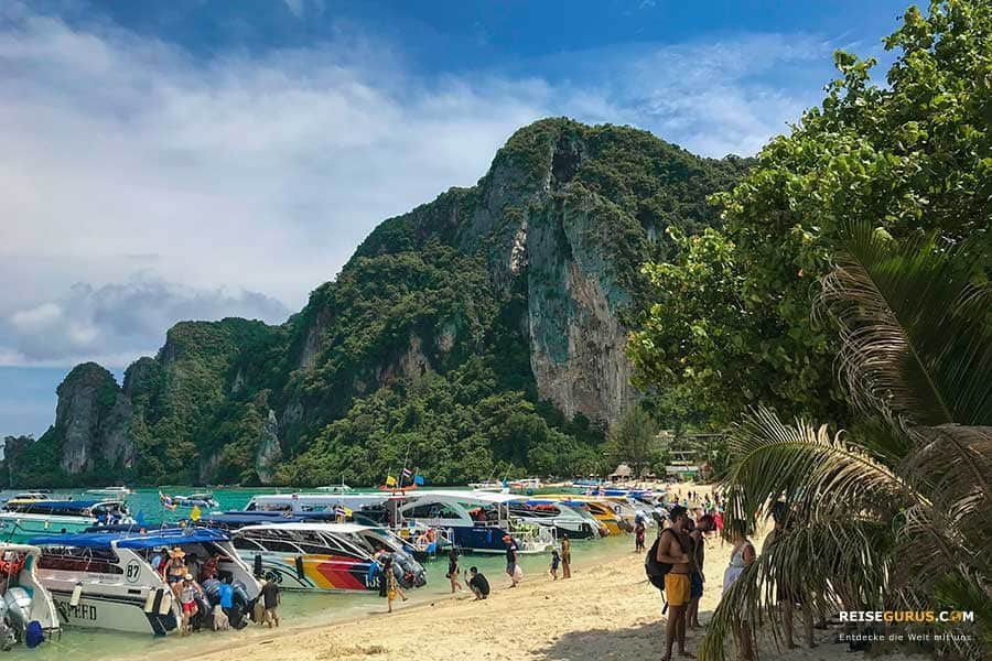 Strände auf Koh Phi Phi Don