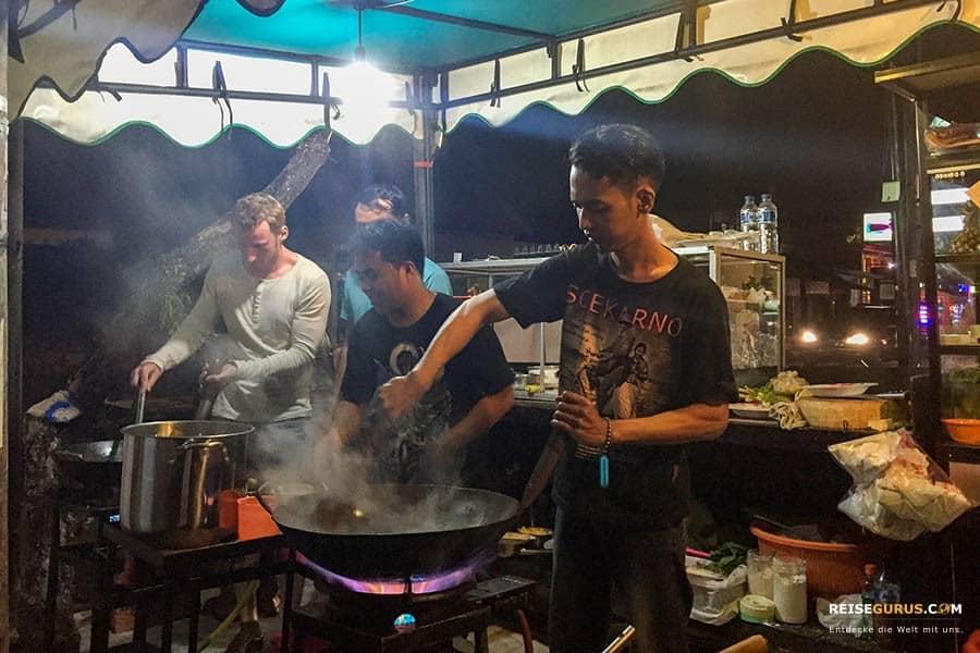 Bali Nachtleben in Ubud