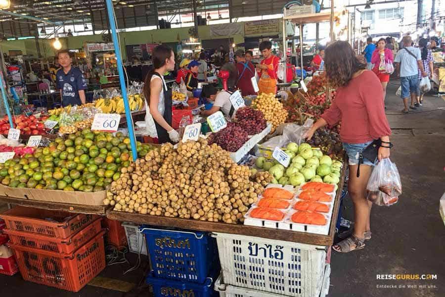 Lard Yai Wochenmarkt