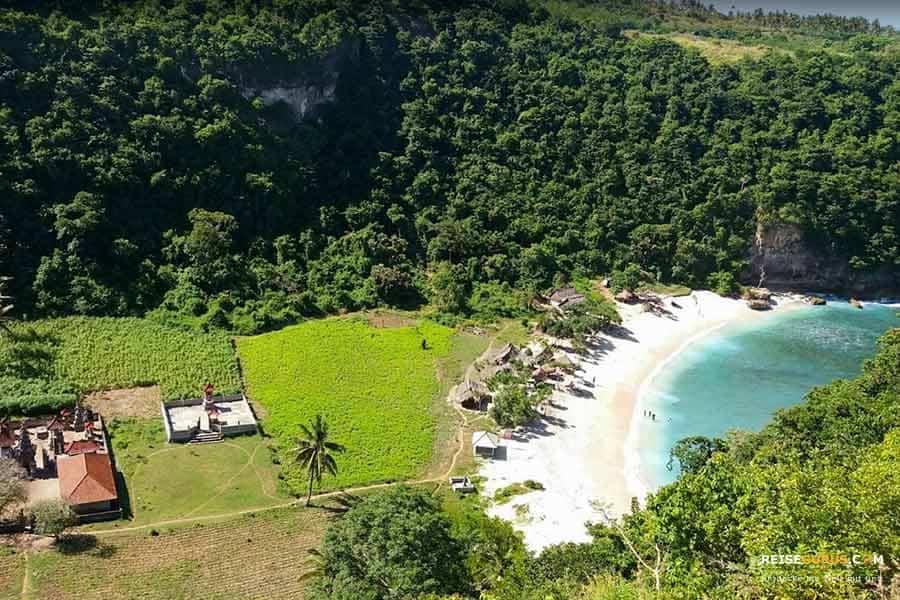 Nusa Penida Strände Atuh Beach