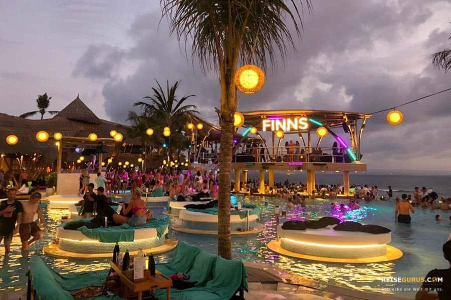 Bali Beach Clubs und Bars