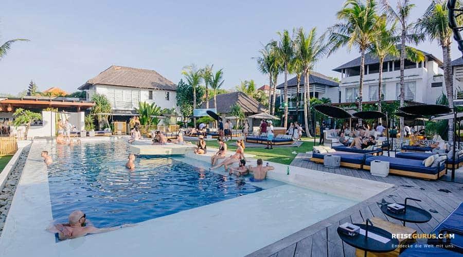 Beach Bars und Beach Clubs auf Bali