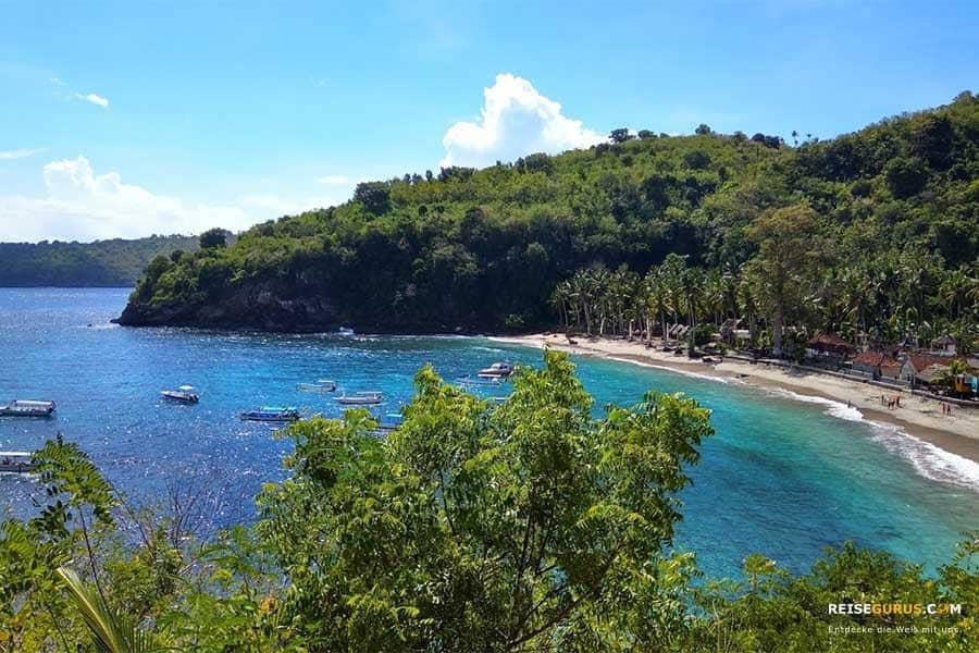 Nusa Penida Strände Crystal Bay