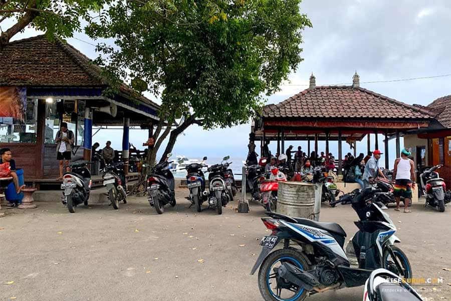 Nusa Penida Anreise und Fortbewegung