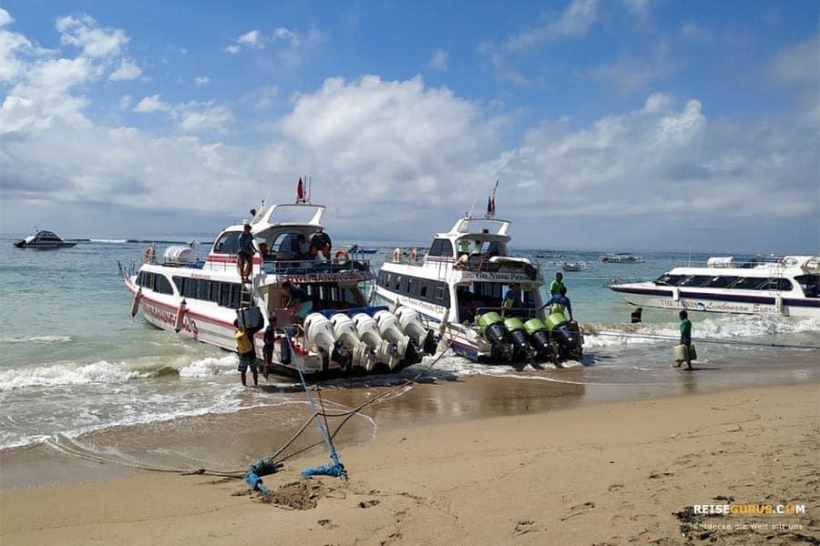 Anreise Nusa Penida Bali