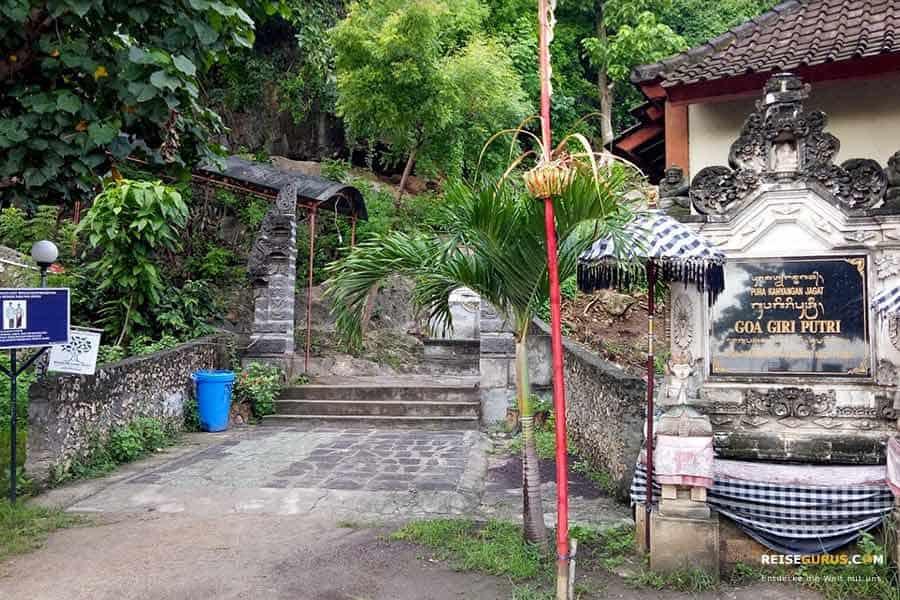 Goa Gili Putri Tempel Nusa Penida