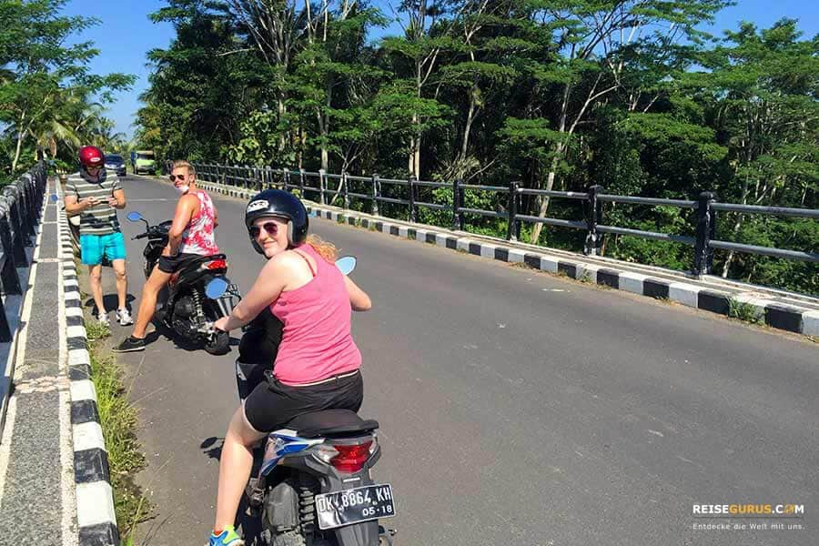 Roller mieten in Bali und Indonesien