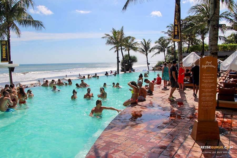 die besten 8 Beach Clubs in Bali