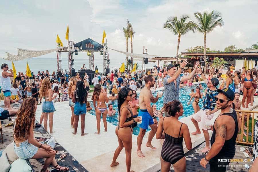 Nr. 8 der Bali Beach Clubs