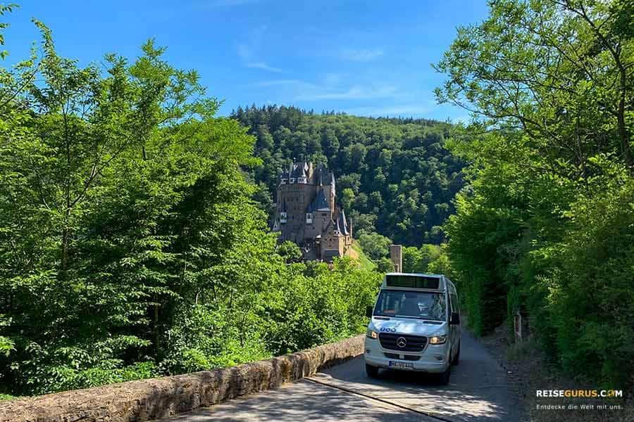 Anreise zur Burg Eltz mit dem Auto