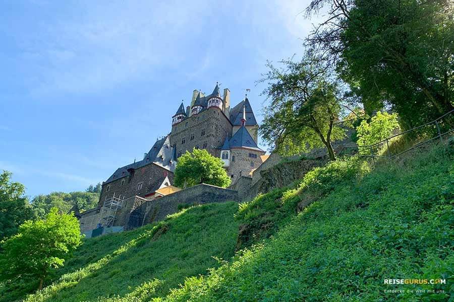 Anreise zur Burg Eltz an der Mosel