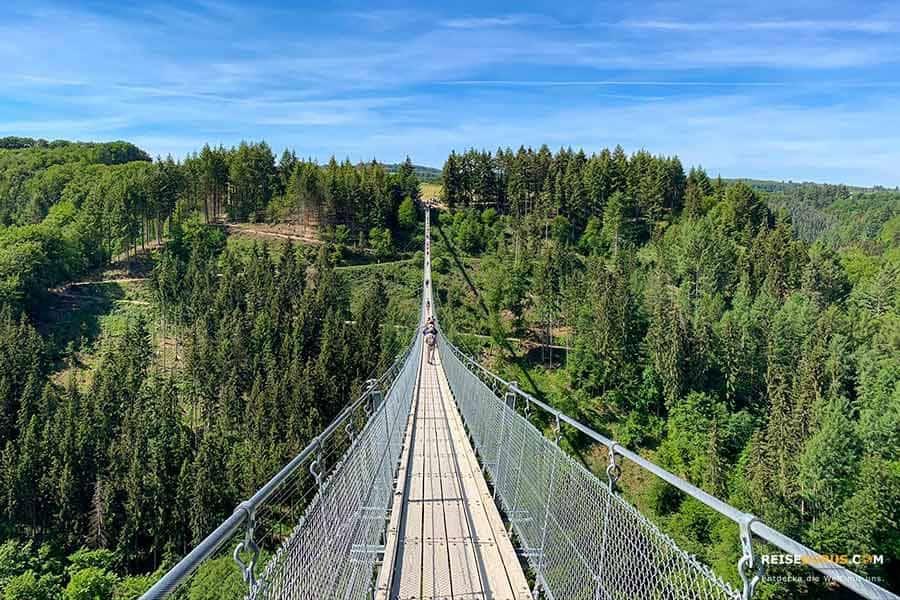 Anreise zur Geierlay Hängeseilbrücke in Mörsdorf
