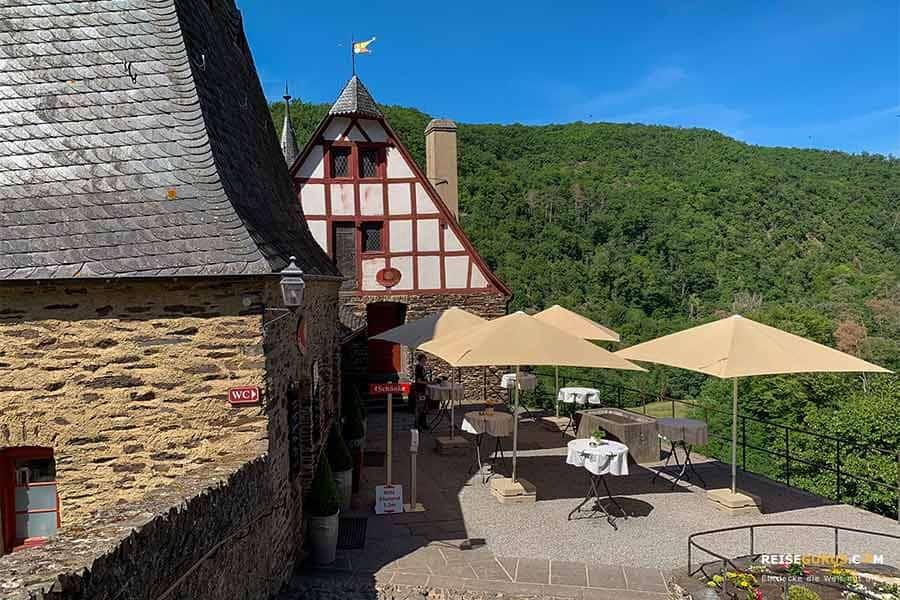 Restaurants der Burg Eltz an der Mosel