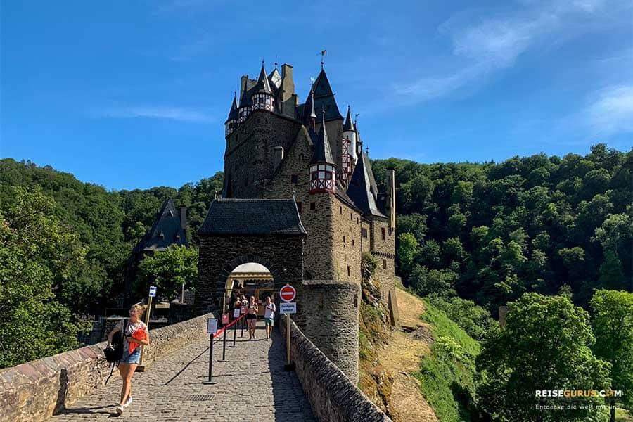 Eintrittspreise und Öffnungszeiten der Burg Eltz an der Mosel