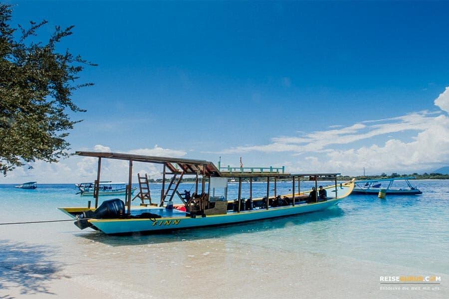 Gili Air Anreise von Bali