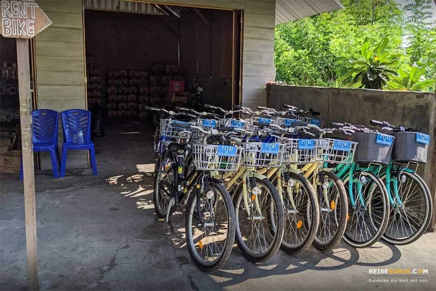 Gili Inseln Lombok Fahrradtour
