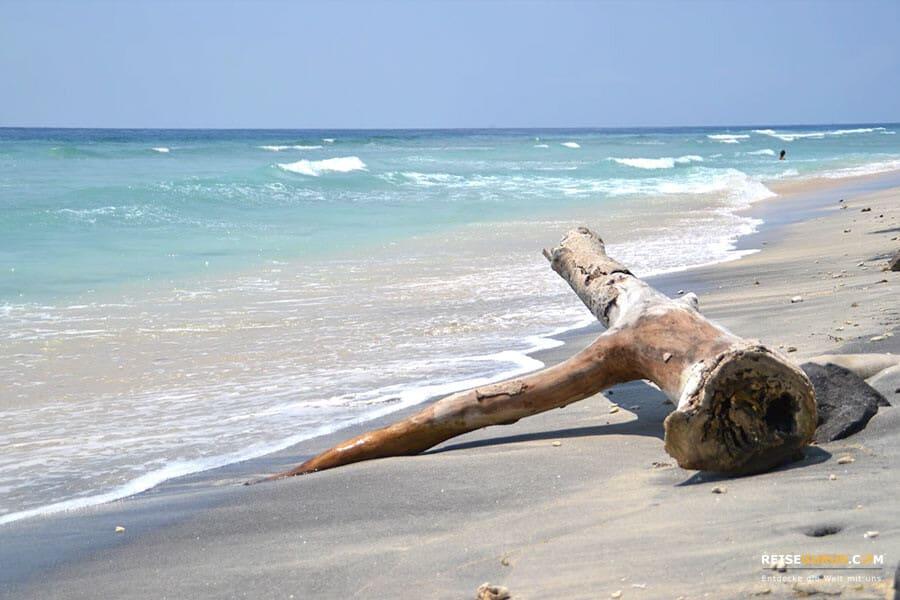Gili Insel Trawangan Strandspaziergang
