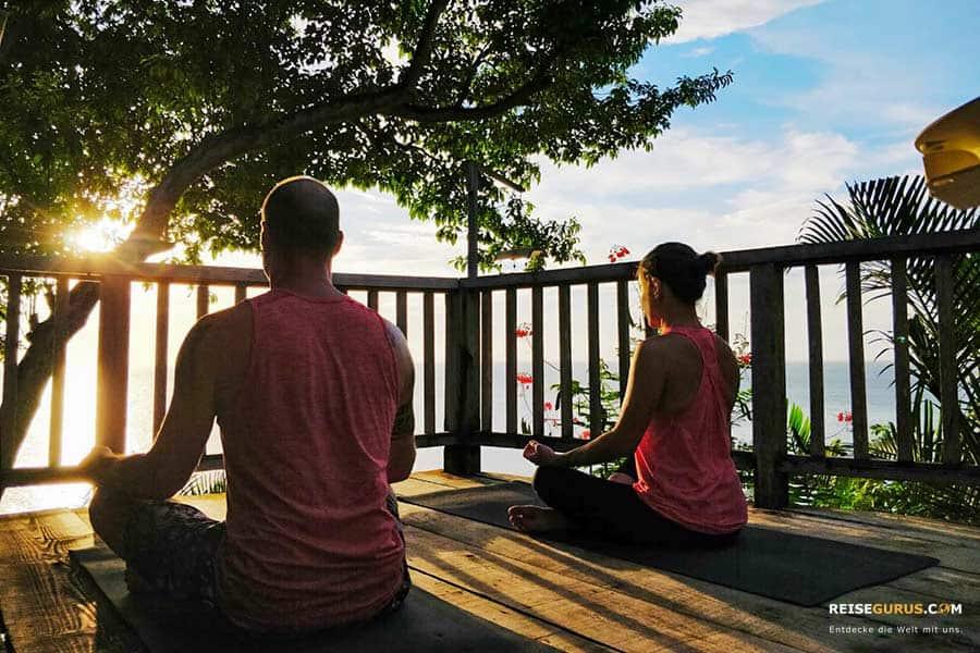 Yoga Kurse auf den Gili Inseln