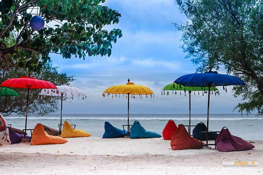 Gili-Islands-Bali Restauranttipps am Strand