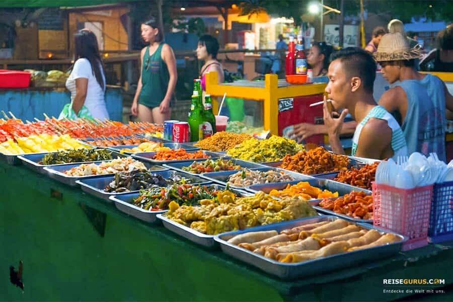 Gili Inseln Nachtmarkt