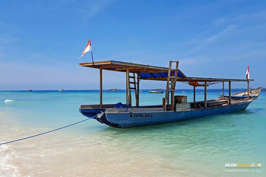 Gili Trawangan Anreise von Lombok
