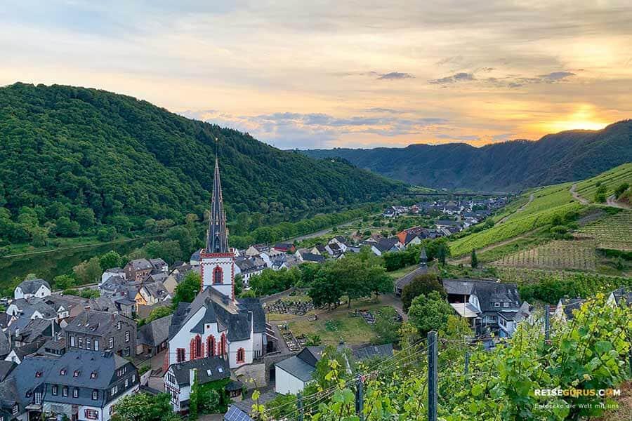 Unterkünfte und Hoteltipps Calmont Klettersteig Ediger-Eller