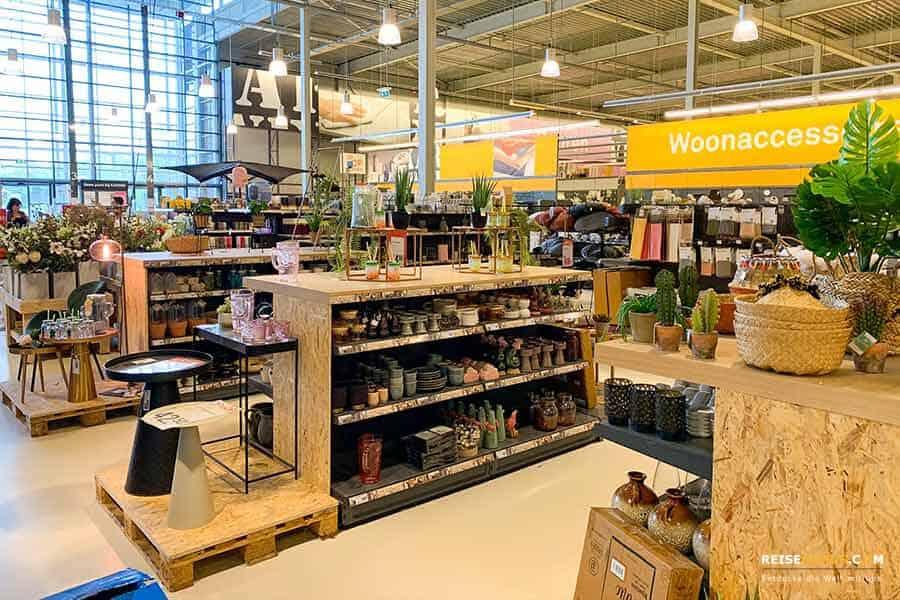 Deko Shopping in Venlo Karwei Baumarkt