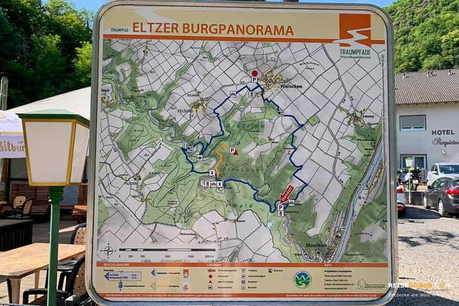 Parkplatz Burg Eltz