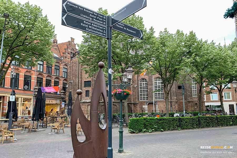 Anreise zum Shopping in Venlo