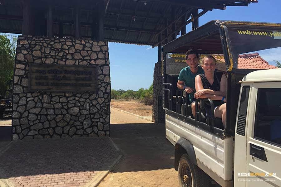 Erfahrungsbericht Yala Nationalpark Safari Kombitour