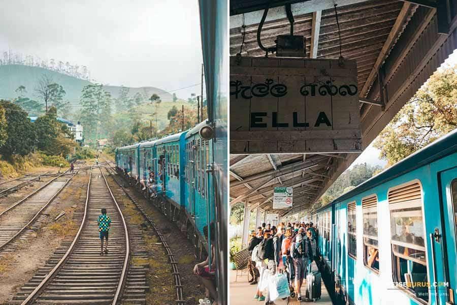 Zugfahrt Sri Lanka Urlaub