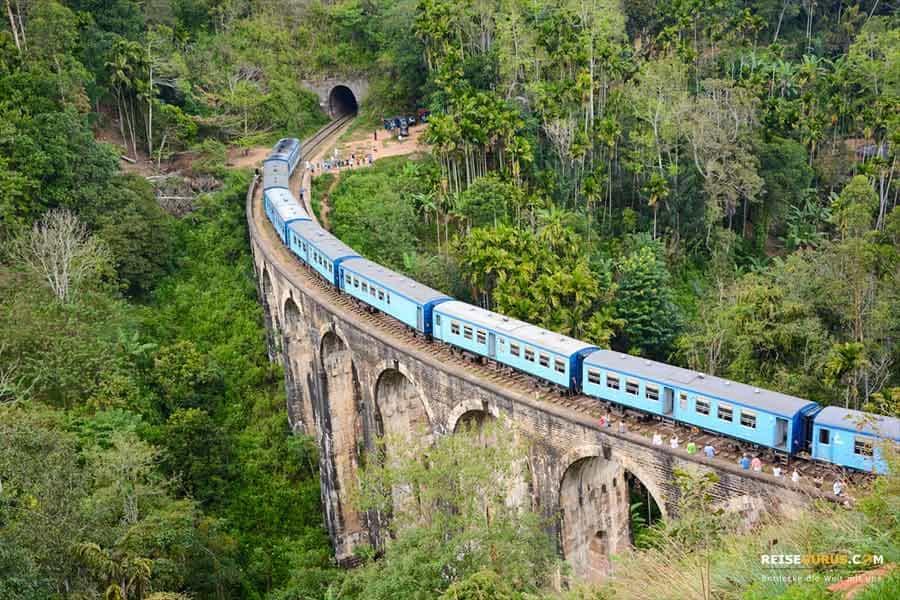 Zugstrecke Kandy nach Ella durchs Hochland