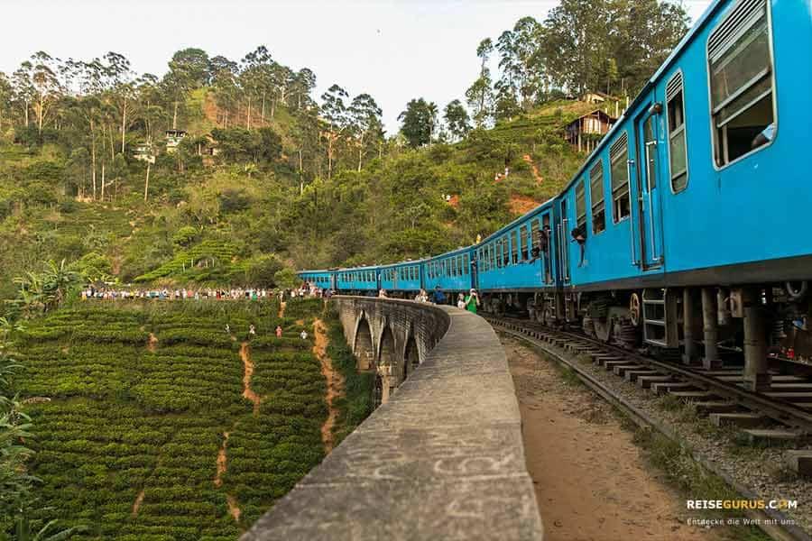 Sri Lanka Zugfahrt