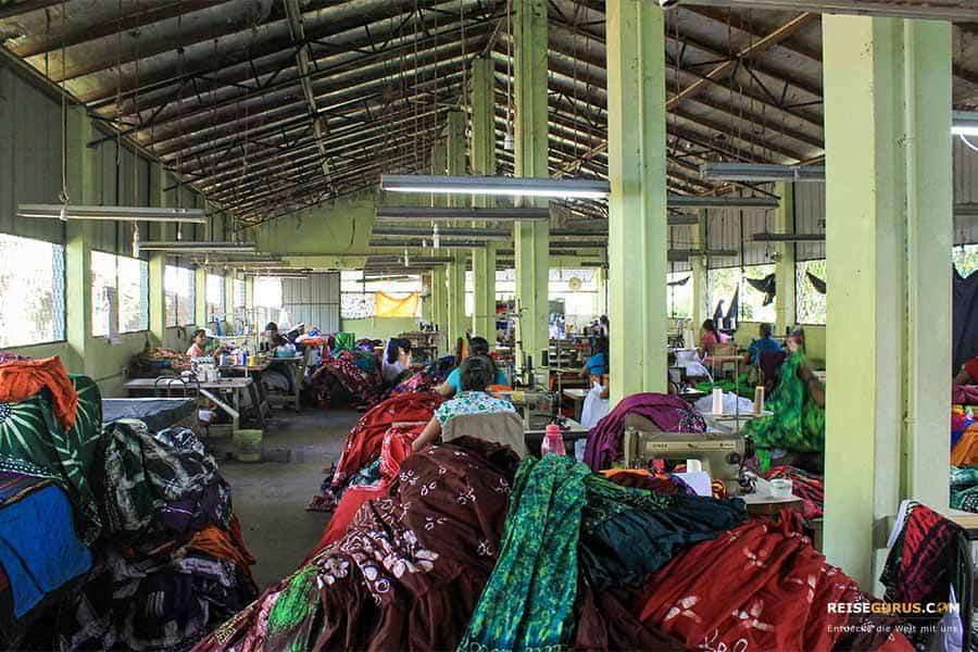 Batik Kleiderfabrik Sri Lanka