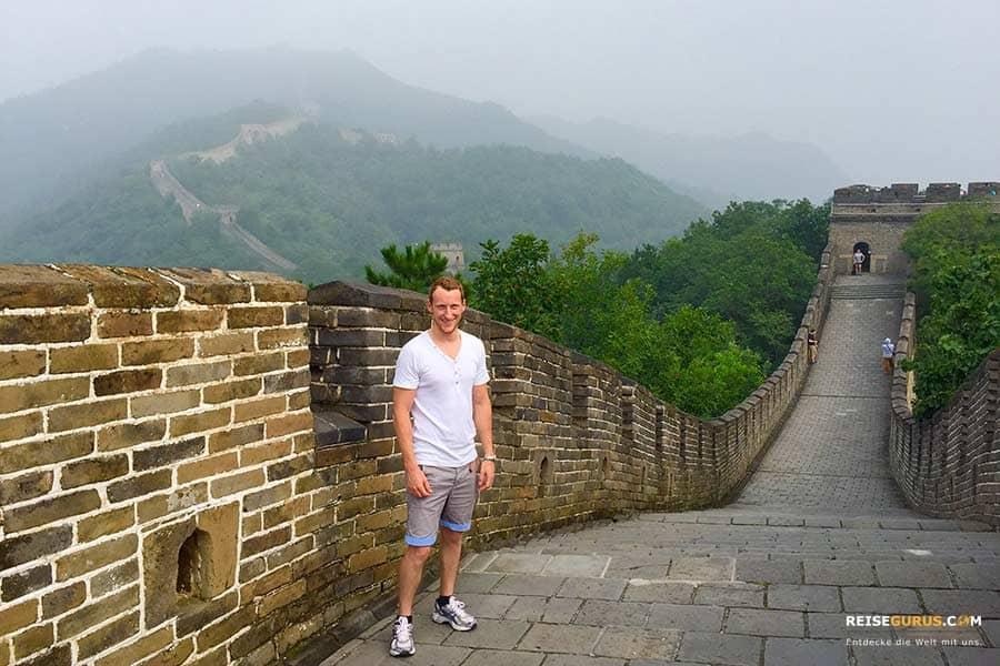 Chinesische Mauer Peking