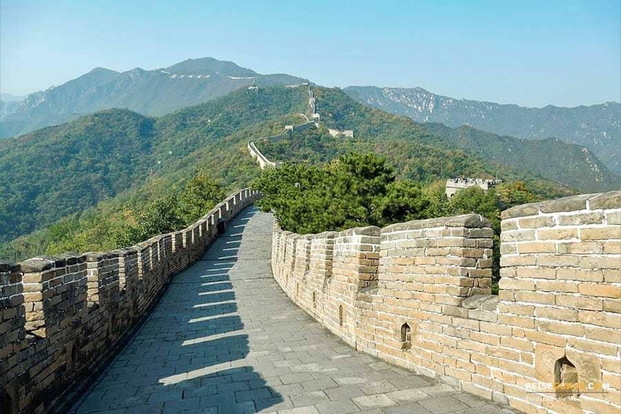Chinesische Mauer bei Peking
