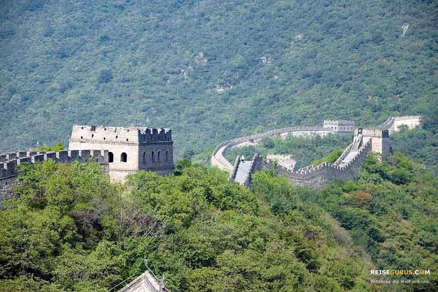 Chinesische Mauer in Mutianyu