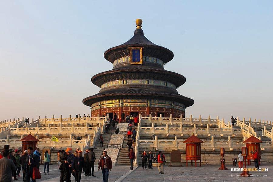 Himmelstempel/Himmelsaltar Peking Stopover