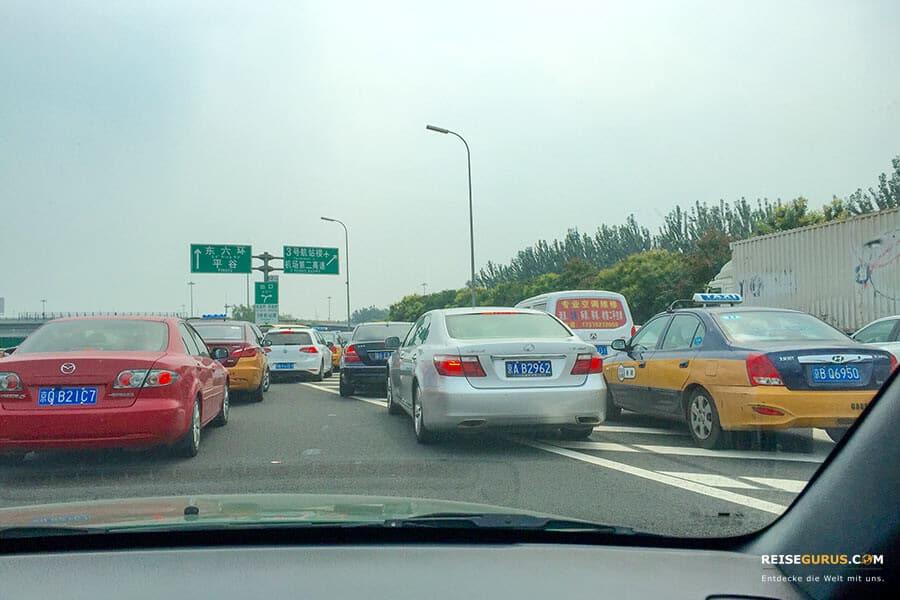 Peking Flughafentransfer in die Stadt