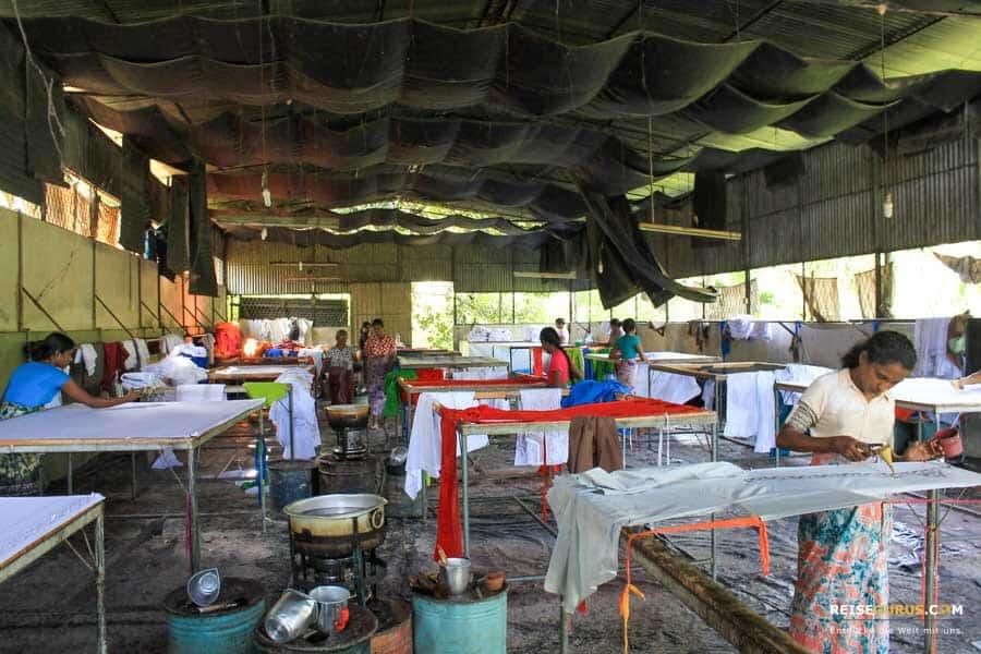 Sri Lanka Kleiderfabrik