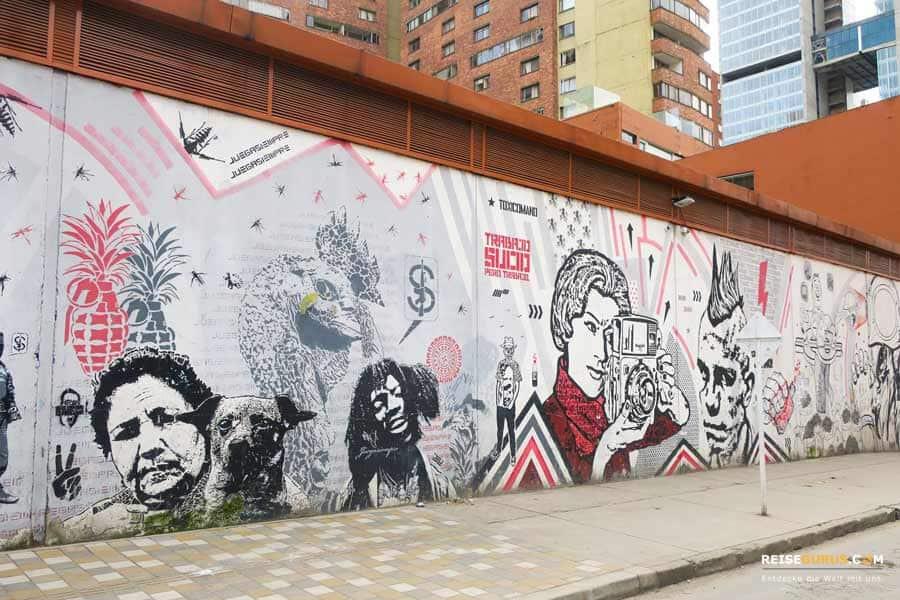 Bogotá Graffiti Tour Preise und Zeiten
