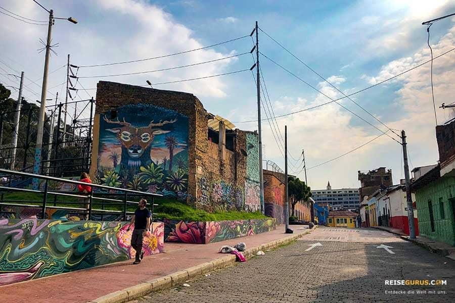 Bogotá Graffiti Touren Start