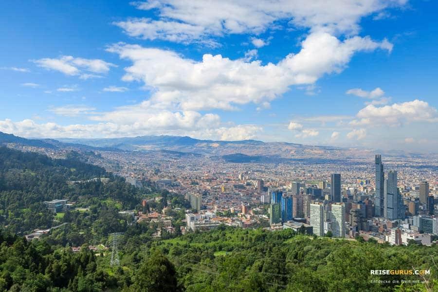 Klima in Kolumbien und Wetter
