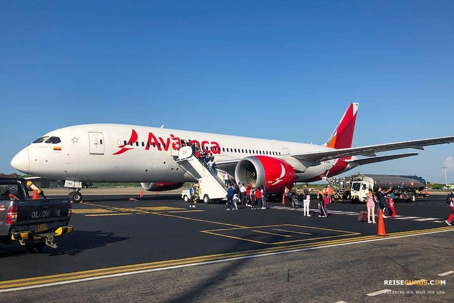 Kolumbien Anreise und Flüge