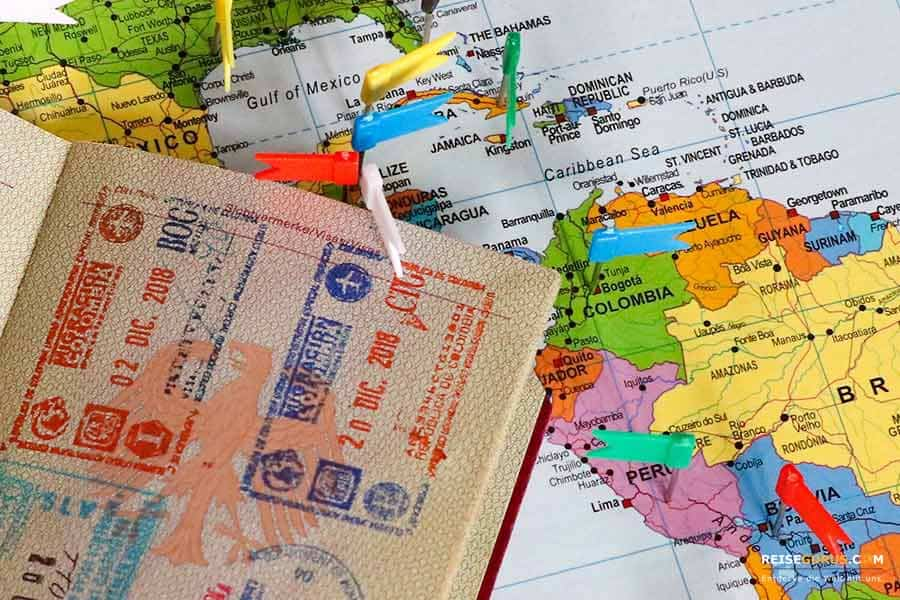 Kolumbien Visum & Einreisebestimmungen