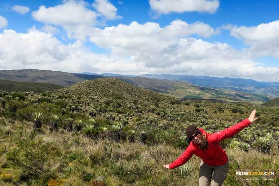 Paramo Sumapaz Nationalpark Ausflüge