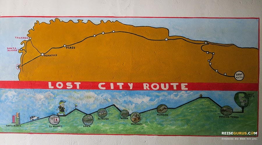 Trekking Tour Lost City
