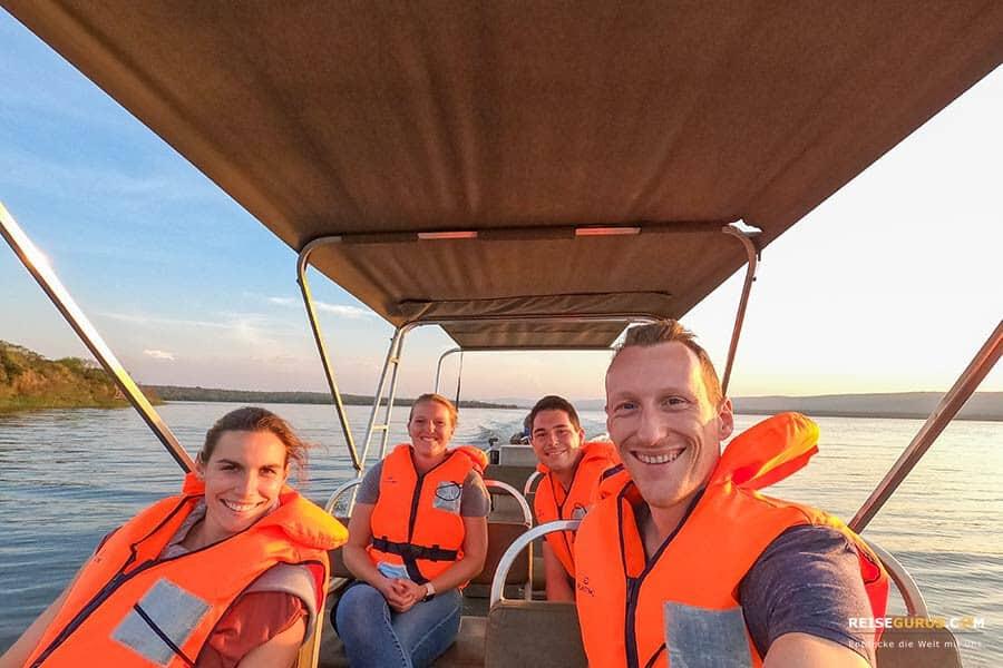 Akagera Nationalpark Boots-Safari