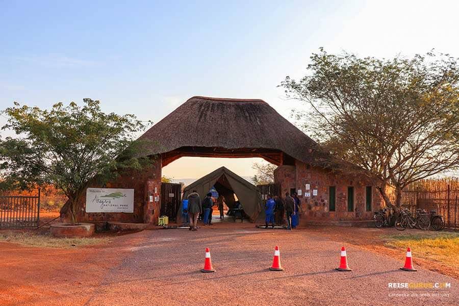 Akagera Nationalpark Anfahrt