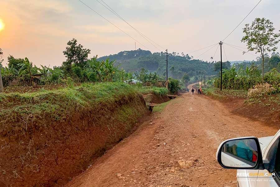 Anfahrt Nyungwe Nationalpark